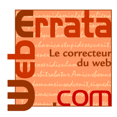 Weberrata - Correcteur du web